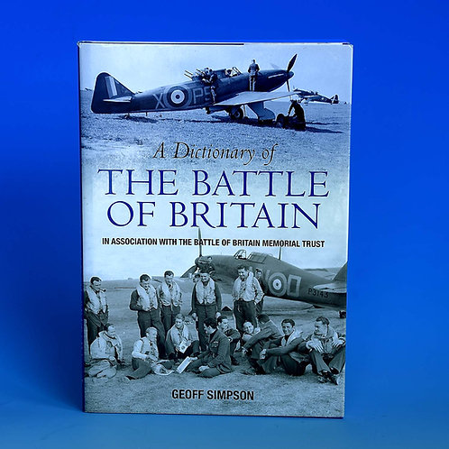 Signed Dictionary of The  Battle of Britain