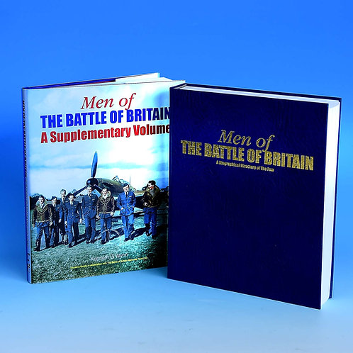 Men of the Battle of Britain – unique, signed copy & Free Supplementary Volume a