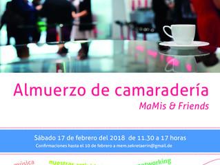 Almuerzo de apertura de año (para socias/os)| Mittagsessen zum Jahresbeginn (für Mitglieder)
