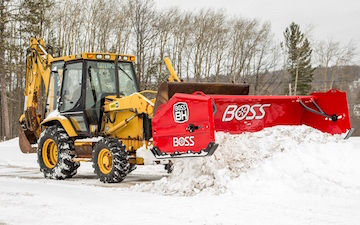Boss Backhoe Plow