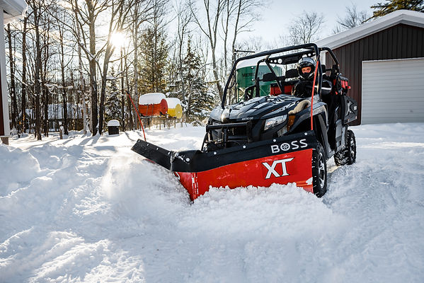 Boss UTV POWER-V XT plow