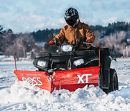 Boss ATV plow