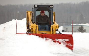 Boss Skid Steer Plow