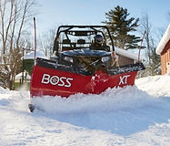 Boss Full Size UTV plow
