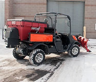 Boss UTV V Box Spreader
