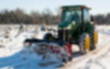 Boss Tractor Plow