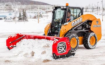 Boss Skid Steer Box Plow