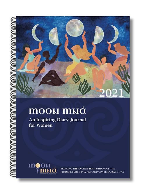 Pre Order Moon Mná Diary Journal 2021 - Moon Diary for Women