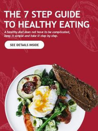HEALTHY EATING - 7 STEP GUIDE