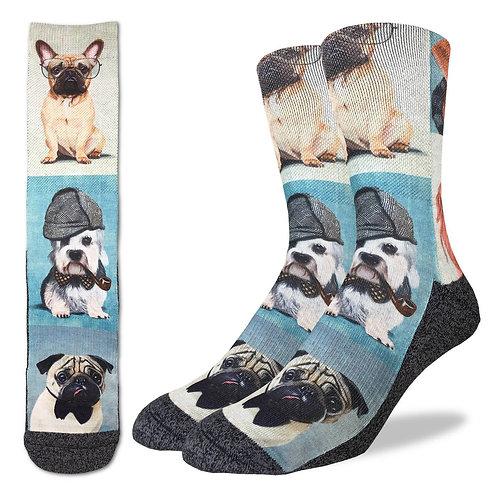 Men's Dashing Dogs Socks