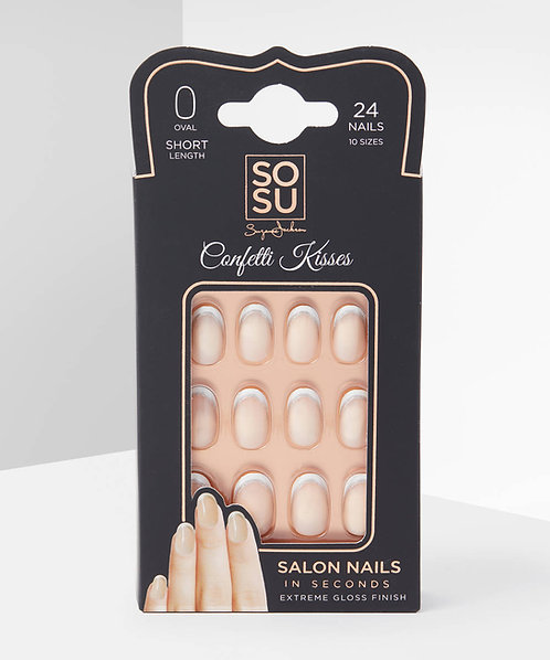 Confetti Kisses Nails - So Sue Me