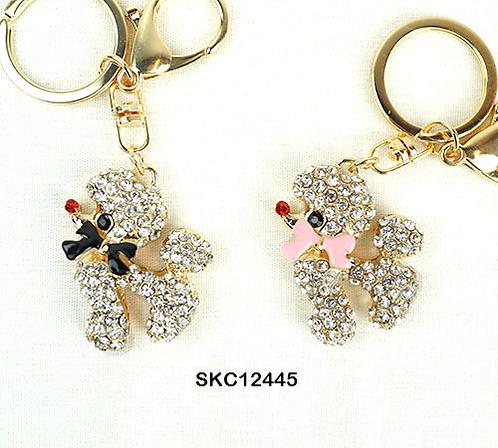 Black Dog keychain