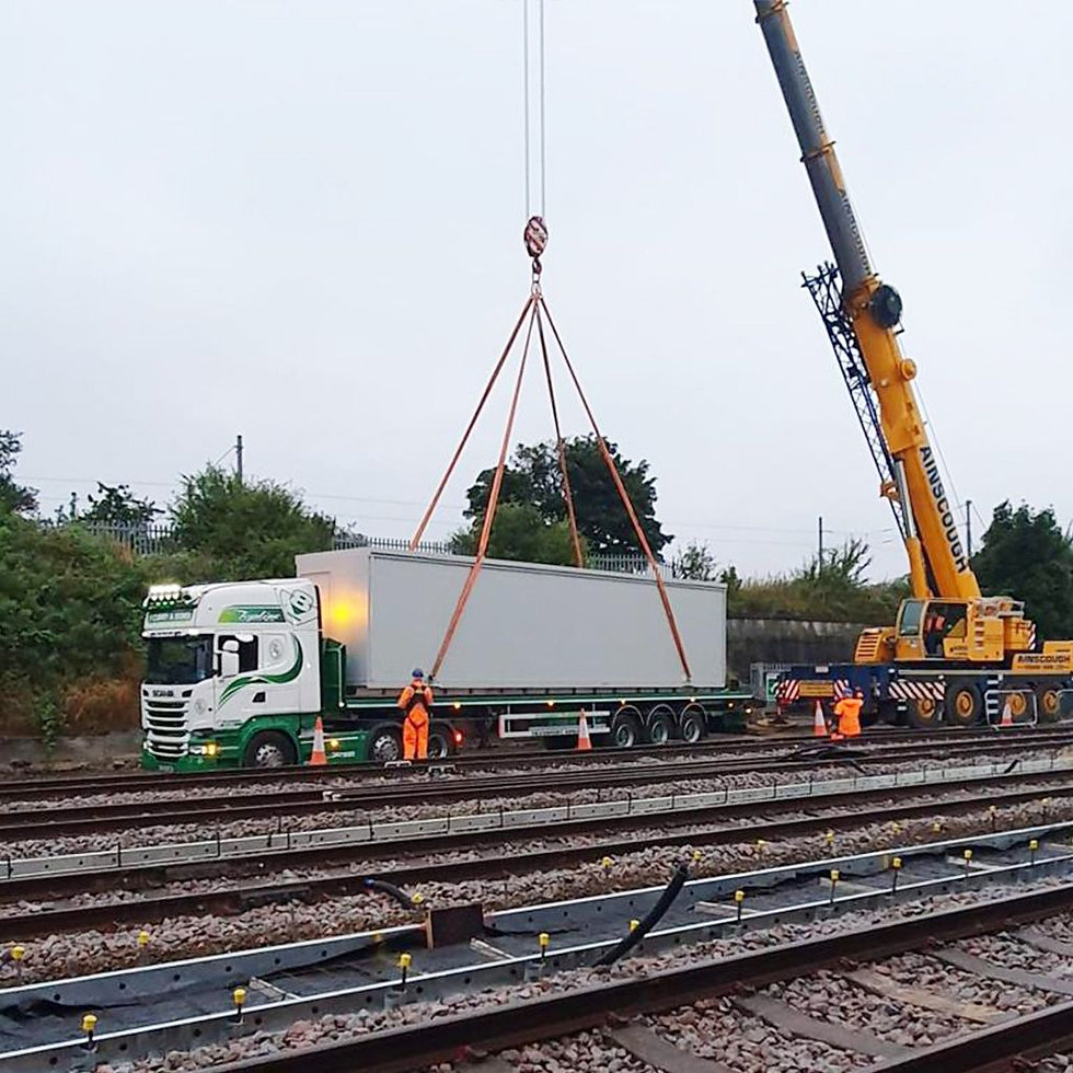 Relocatable  Equipment Building (REB) For Rail Signalling & Power (RSP)