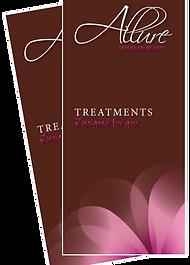 Allure HoueOF Beauty Treatment Brochure