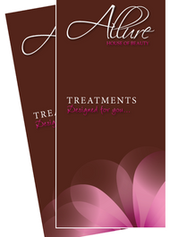 Allure HoueOF Beauty Treatment Brochure