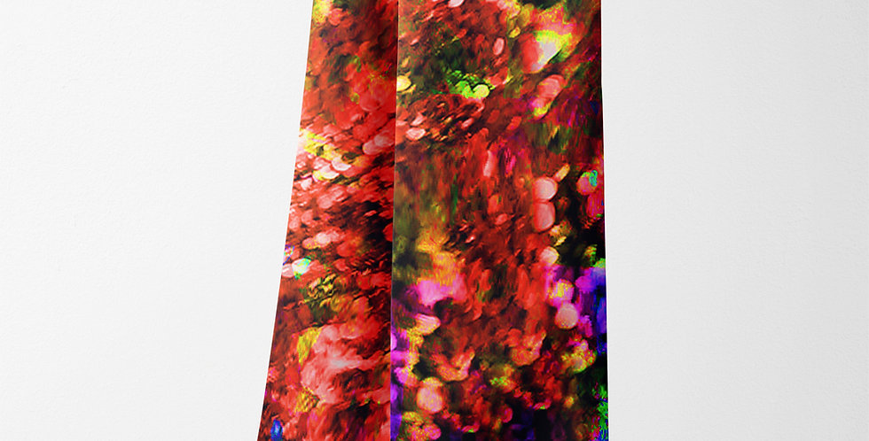 Jewel Red Rectangle Scarf