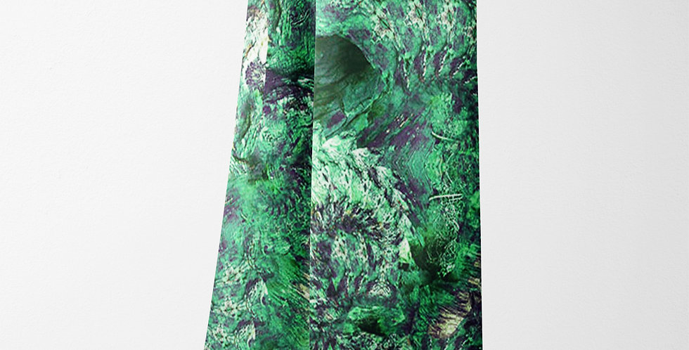 Woodland Opal Rectangle Scarf in Green
