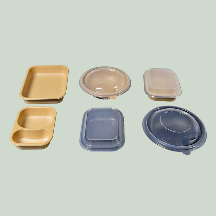 Compostable Trays & Lids