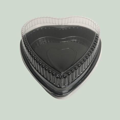 9 inch Bakeable Heart Cake Pan & Lid