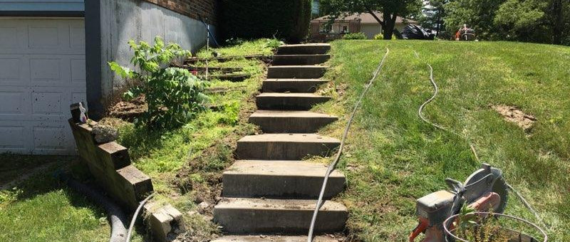 Uneven & Settled Stairs