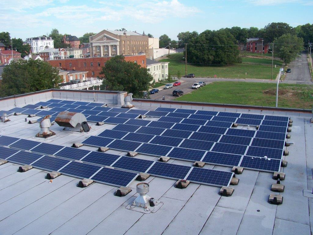 Commercial Flat Roof Installations