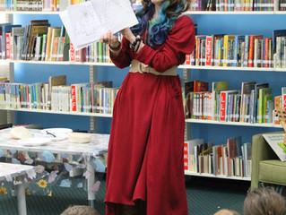 Storytime Lane's Regional Library Tour