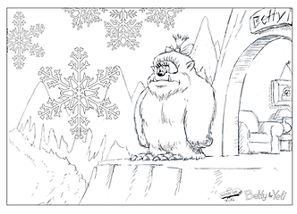 Betty the Yeti Printable