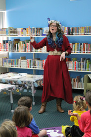 Aunty Em at Scone Library