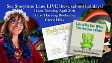 Storytime Lane is returning to Harry Hartog Green Hills!
