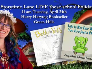 Storytime Lane is returning to Harry Hartog Green Hills!