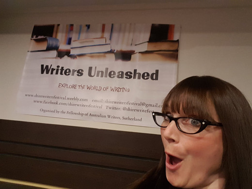 At the Writers Unleashed Festival