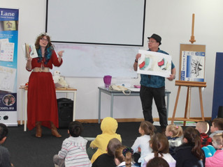 Storytime Lane goes to Tuggerah Library!