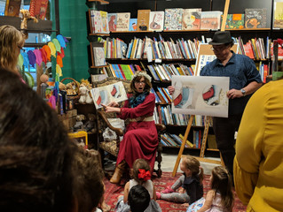 Storytime at Harry Hartog Greenhills 24.4.2018