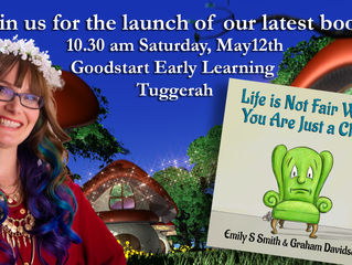 """Come to the launch of our new book- """"Life Is Not Fair When You Are Just a Chair"""""""
