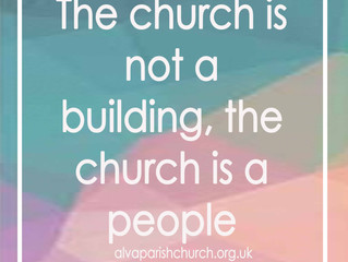 The church is not a building, the church is a people