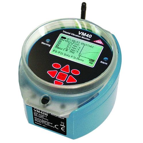 VM40 autonomiczny rejestrator drgań sejsmicznych