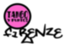 logo Tango y punto firenze nero T SHIRT.
