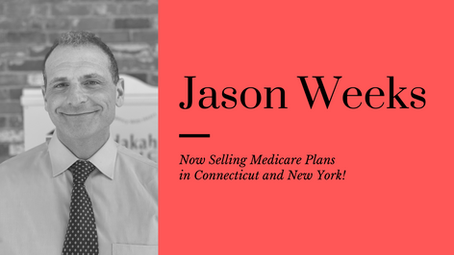 Jason Weeks Becomes Licensed to Sell Medicare Plans in CT & NY