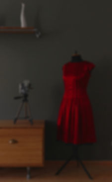 """The Red Dress"" von Tanja Leydermann Nähkurse Leipzig"