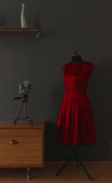 """The Red Dress"" von Tanja Leydermann Nähkurse Leipzig"