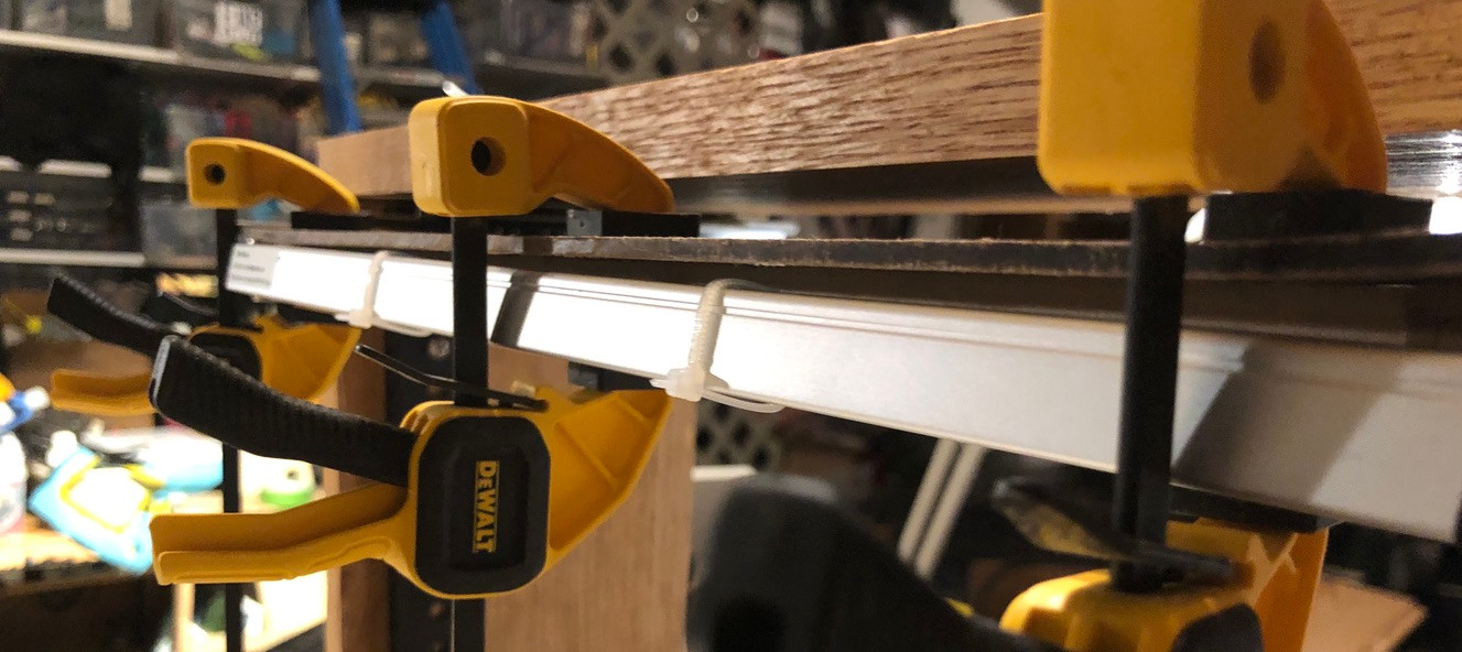 New Rack: setting lamp slide/ pull-out