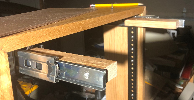 six inch mini drawer slide for the lamp