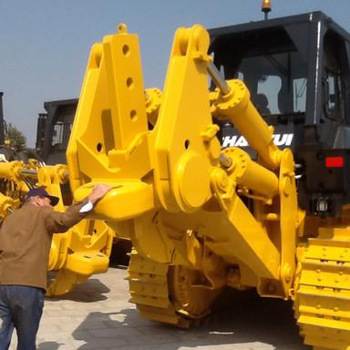 Shantui bulldozers