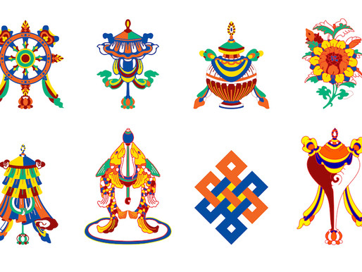 Os 8 Símbolos Auspiciosos do Budismo