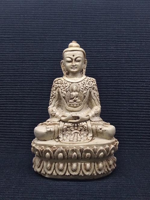 Buda Tibetano em resina