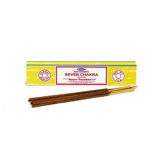 Incenso Indiano Massala Satya - Seven Chakra