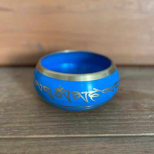 Orin azul com Dourado - Medio