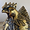 Thumbnail: Galinha dourada de madeira Balsa