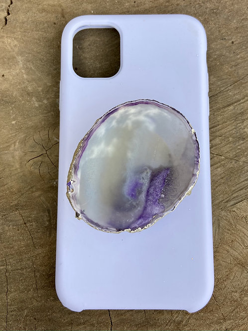 Phone Grip / Pop Socket Ágata Roxo