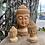 Thumbnail: Cabeça de Buda de Madeira PP